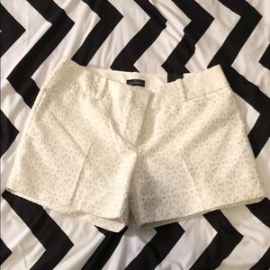 "NWT The Limited Shorts 5"" Inseam White"